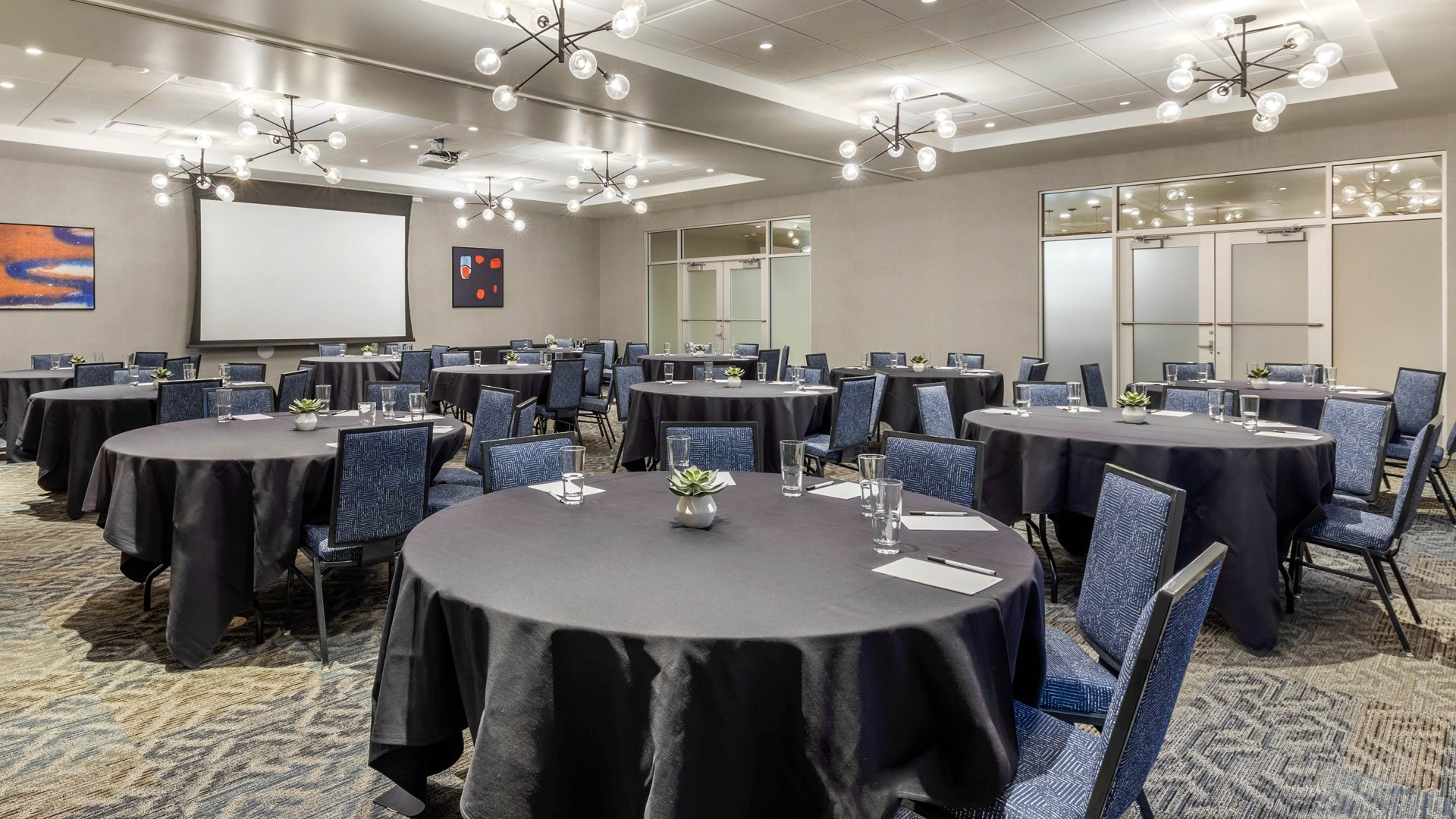 Meeting and Event space of 1,800 sq ft