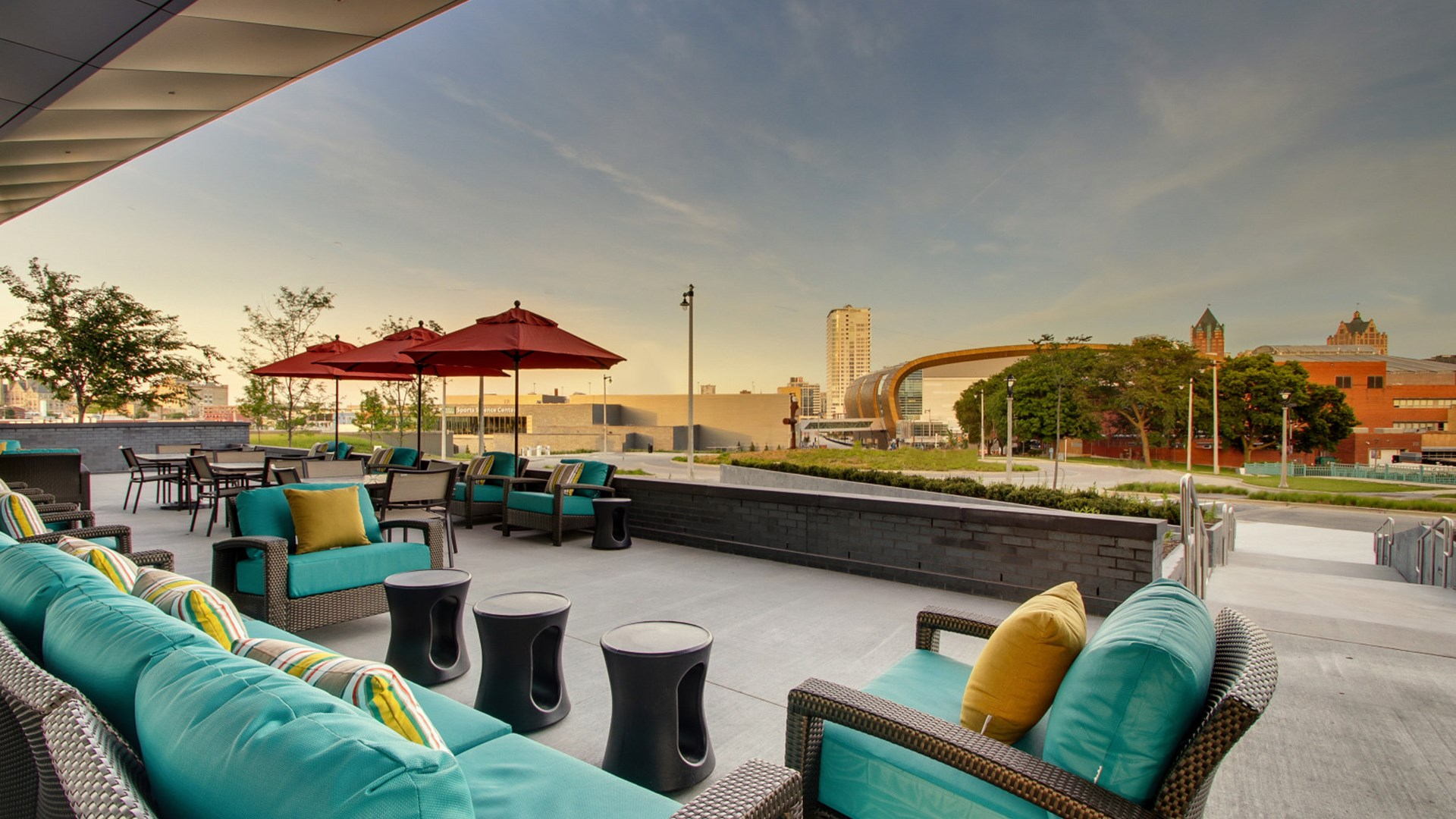 Hyatt Place Outdoor Patio