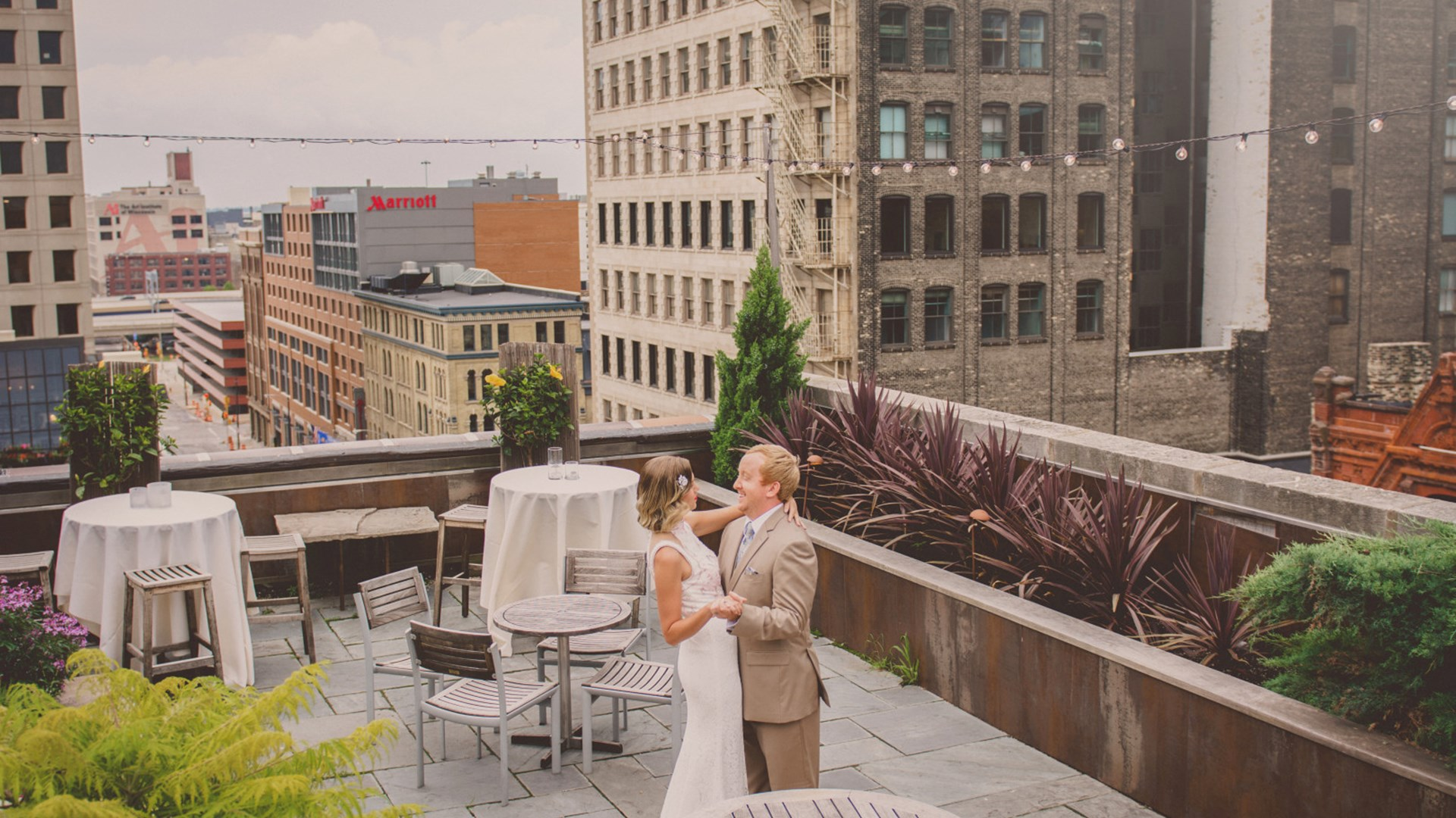 Wedding on Rooftop