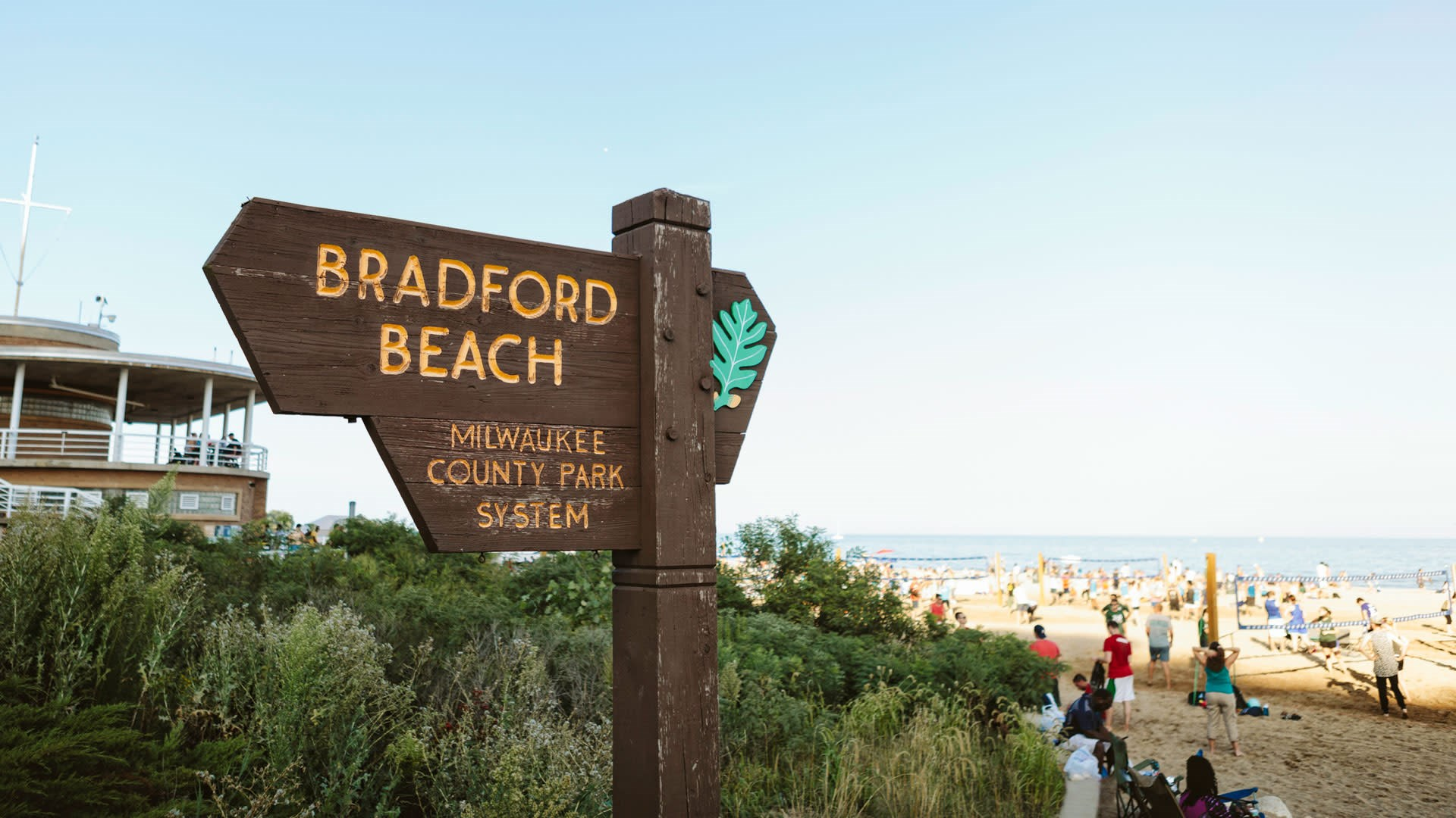 One of the Nation's top urban beaches