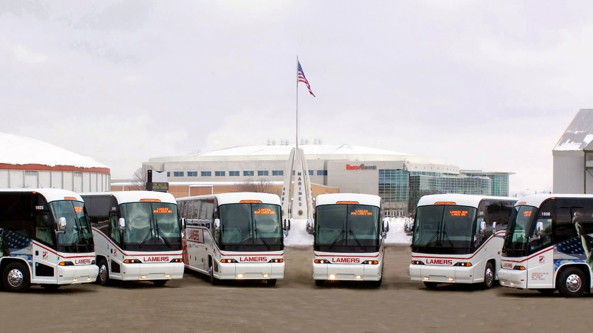 Coach Bus Fleet
