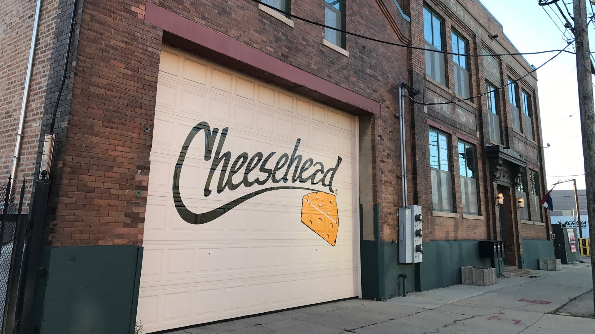 Cheesehead Factory building out side