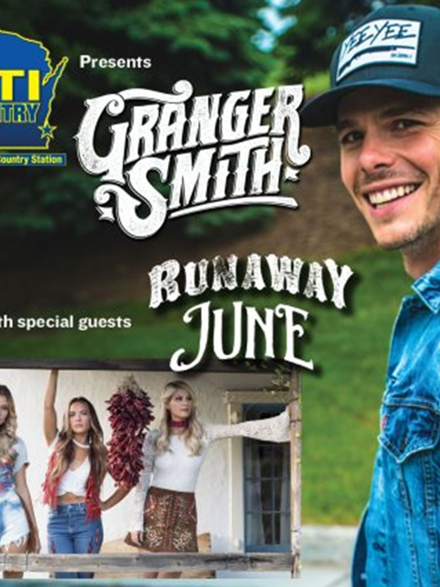 94.5 KTI Country presents Granger Smith with guests Runaway June & Walker McGuire