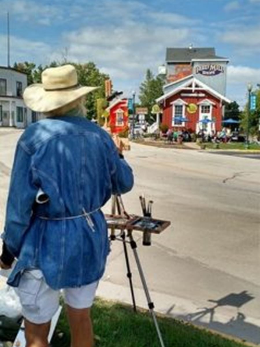 9th Annual Paint the Towns, En Plein Air