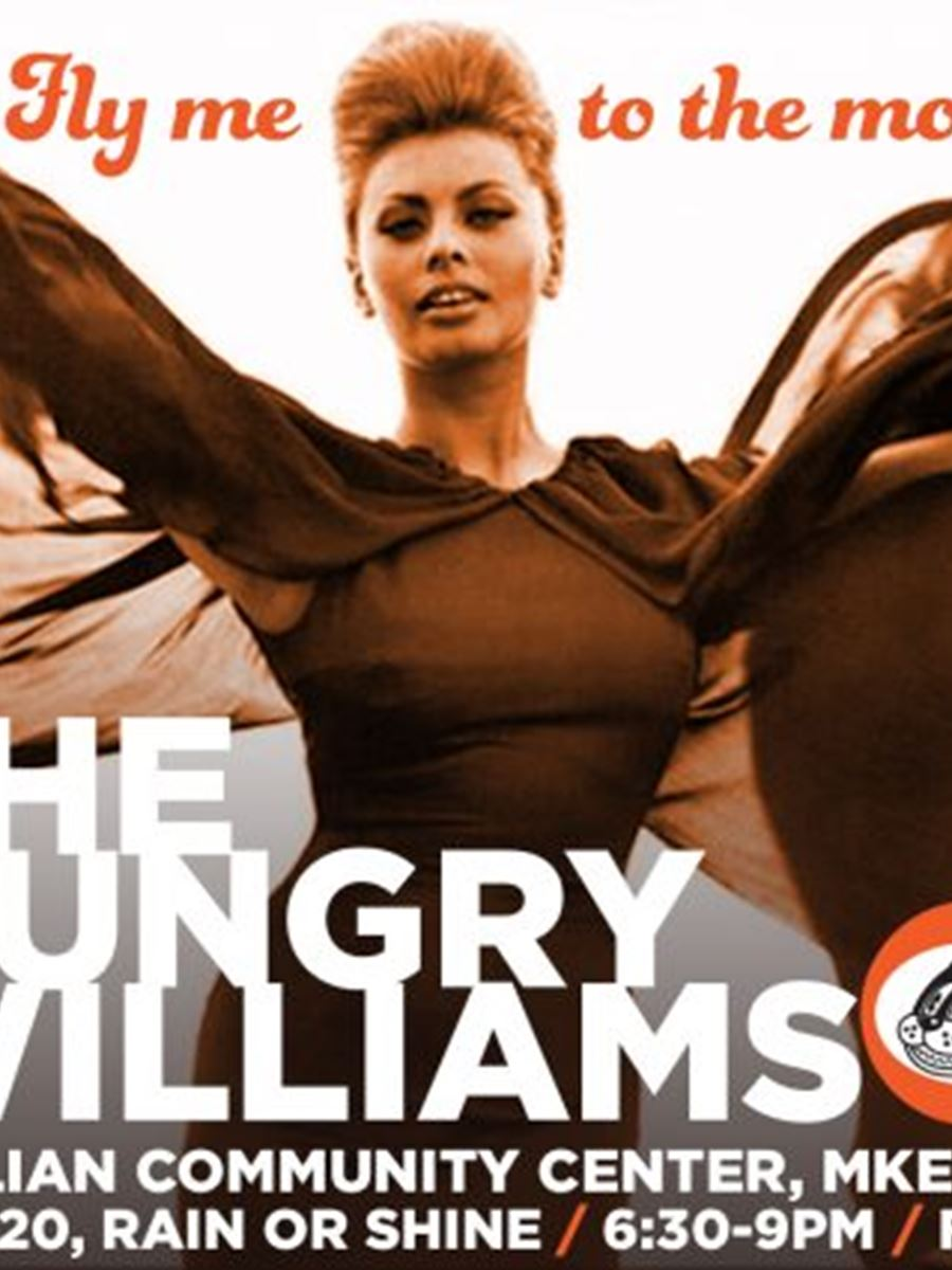 The Hungry Williams at Music on the Courtyard @ the Italian Community Center
