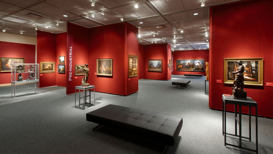 Grohmann Museum - Man at Work Art Collection