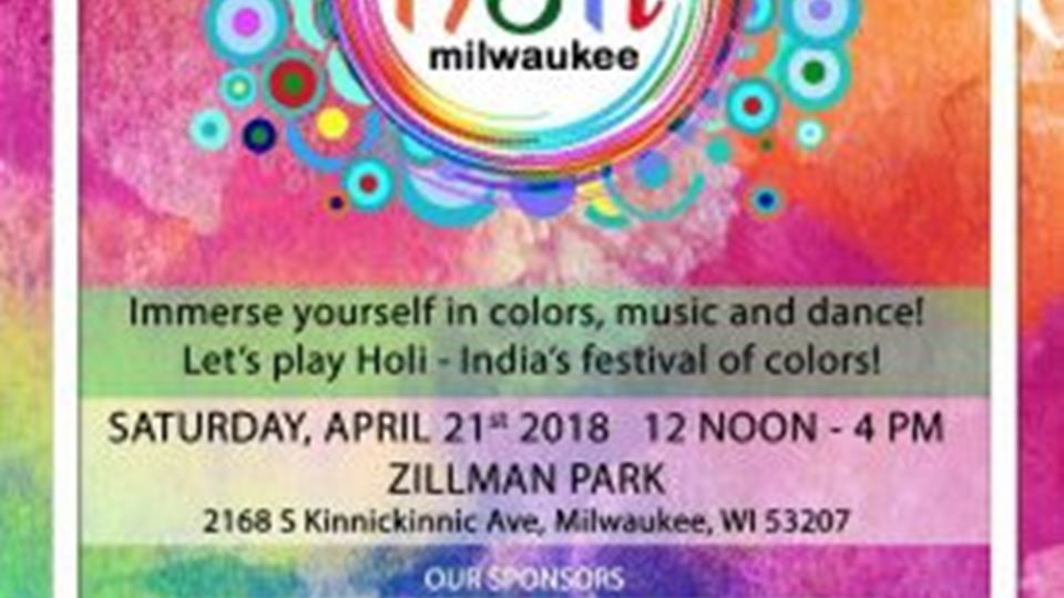 CANCELED Holi Milwaukee 2018