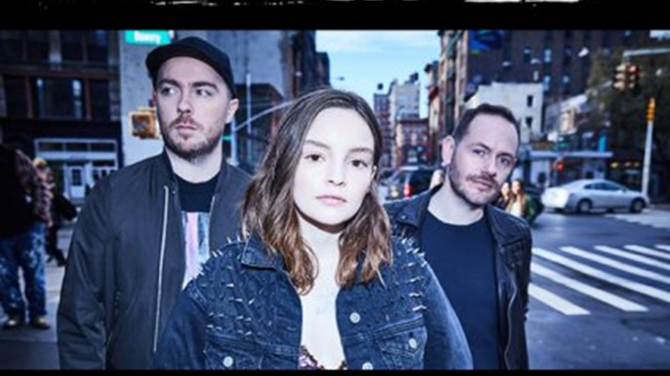 CHVRCHES at the Riverside Theater