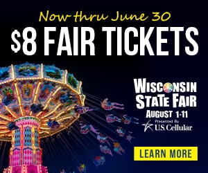 $8 State Fair Tickets