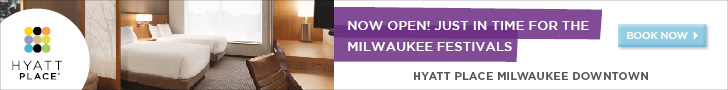 Now Open! Just in time for the Milwaukee Festivals