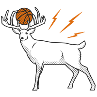 Bucks Basketball - Full deer
