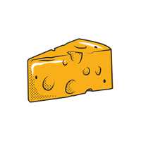 Cheese Wedge (NO TEXT)
