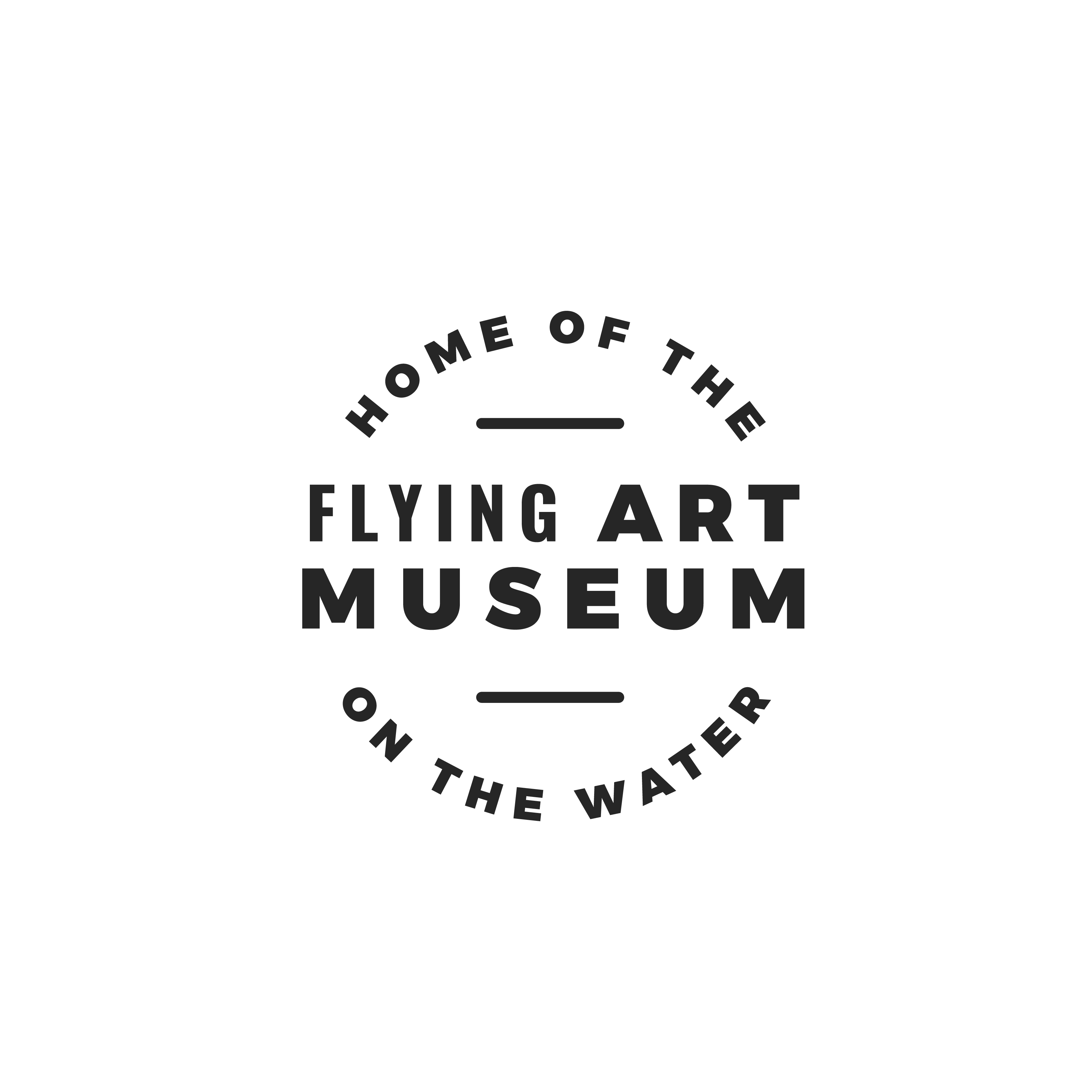 Flying Art Museum on the Water