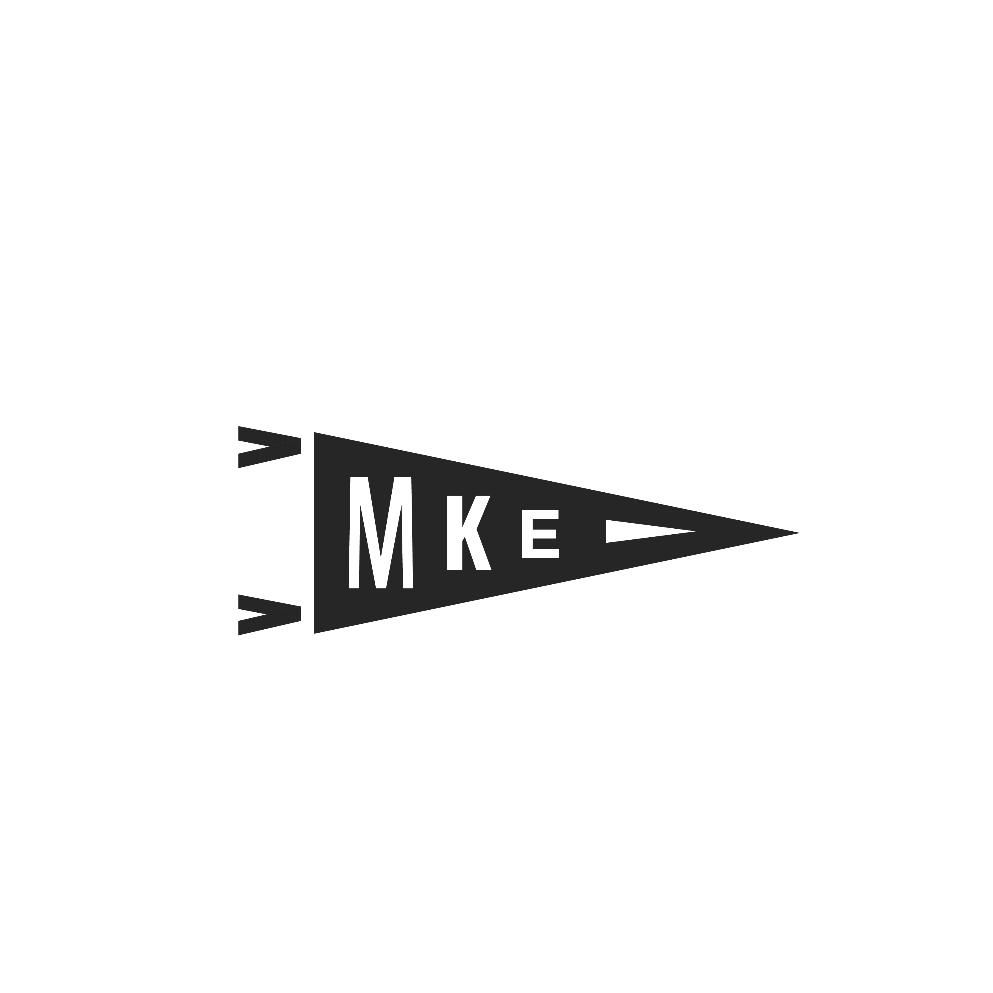 MKE Pennant (NO TEXT)