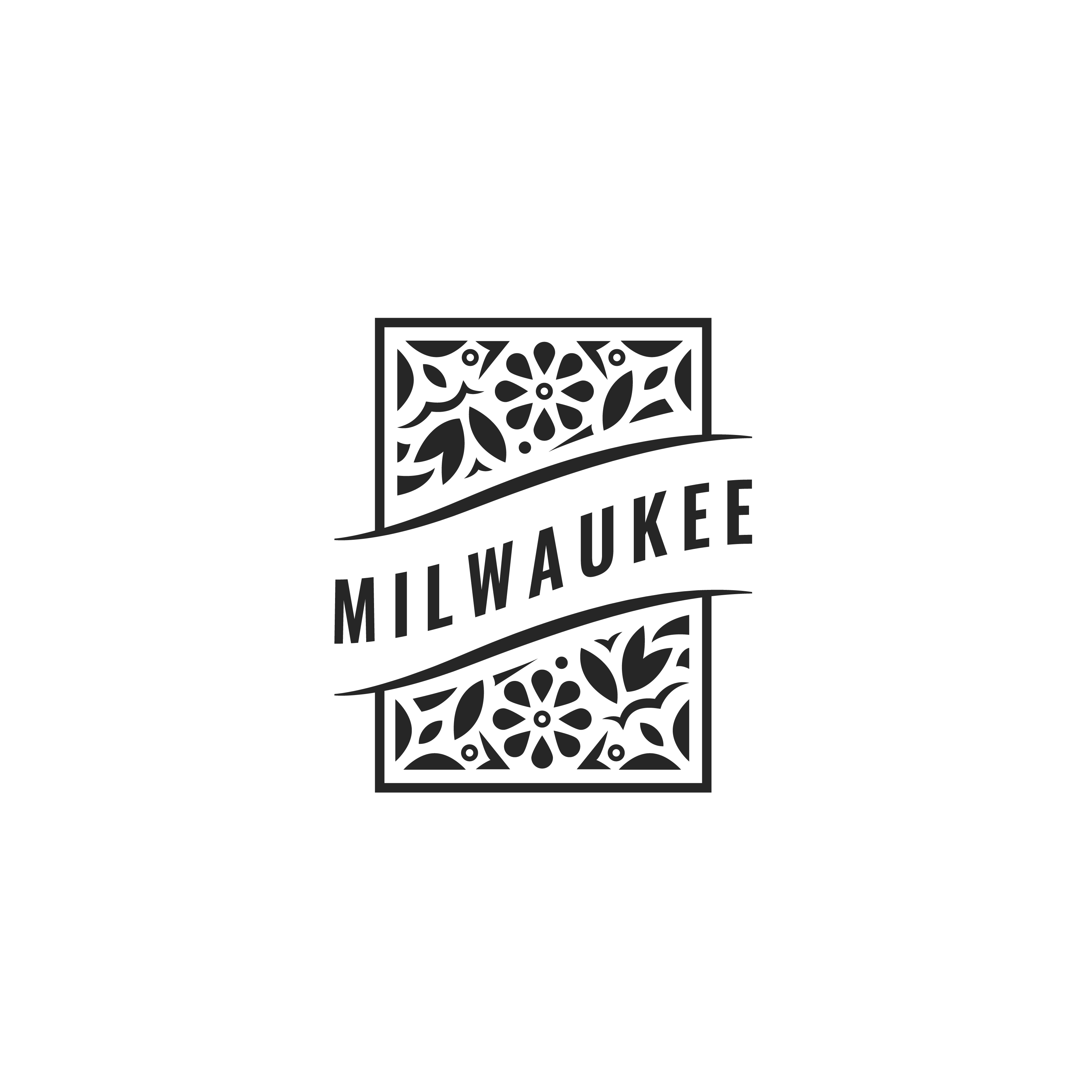 Milwaukee Floral (NO TEXT)