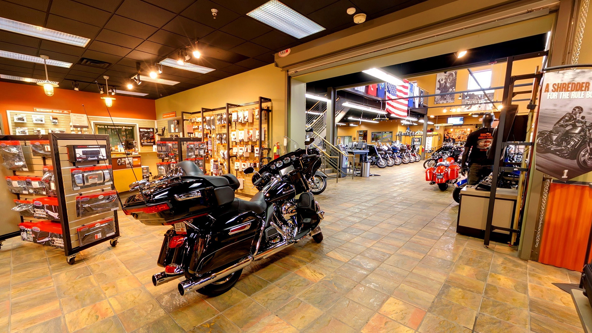 Captivating Harley Retail Store