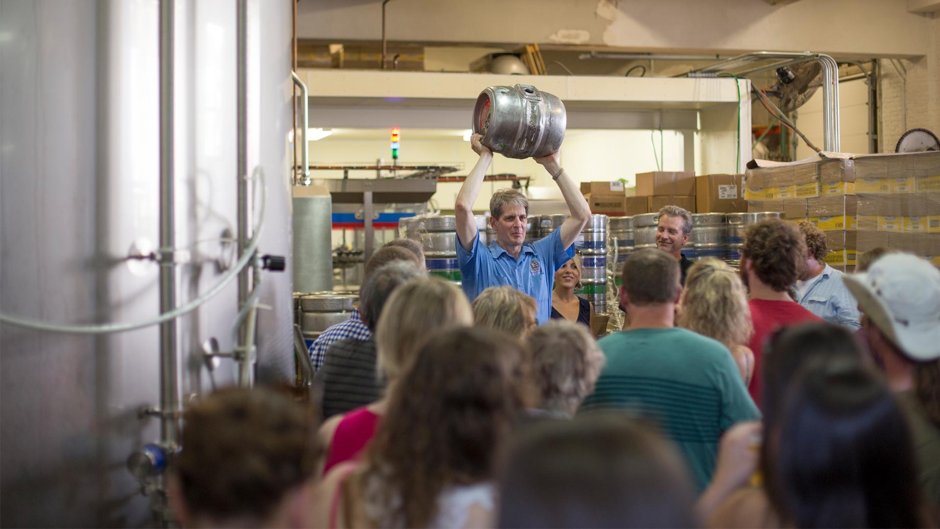 Lakefront Brewery Tours