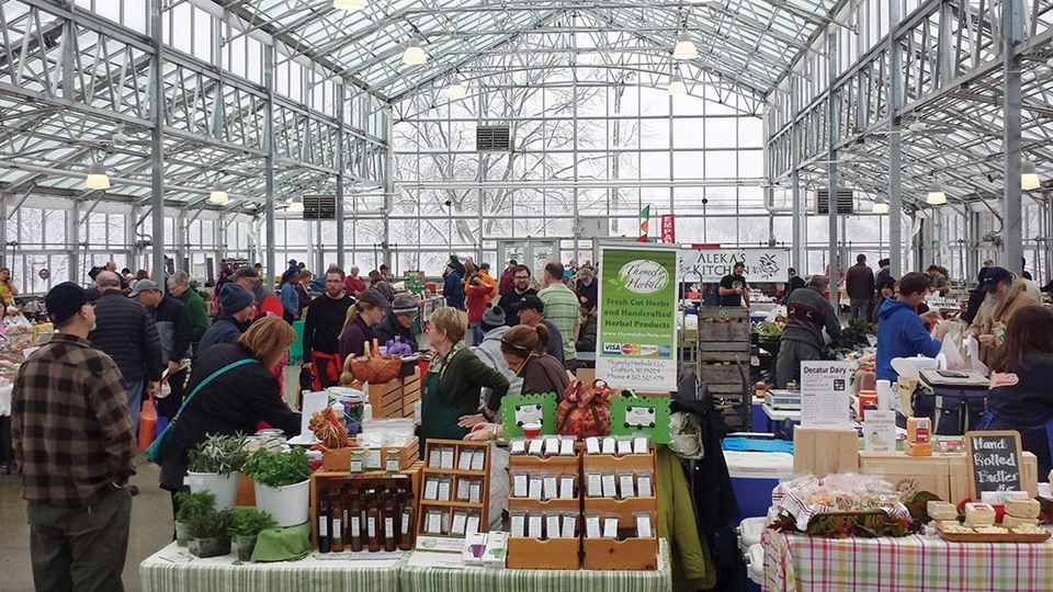 Milwaukee County Winter Farmers Market