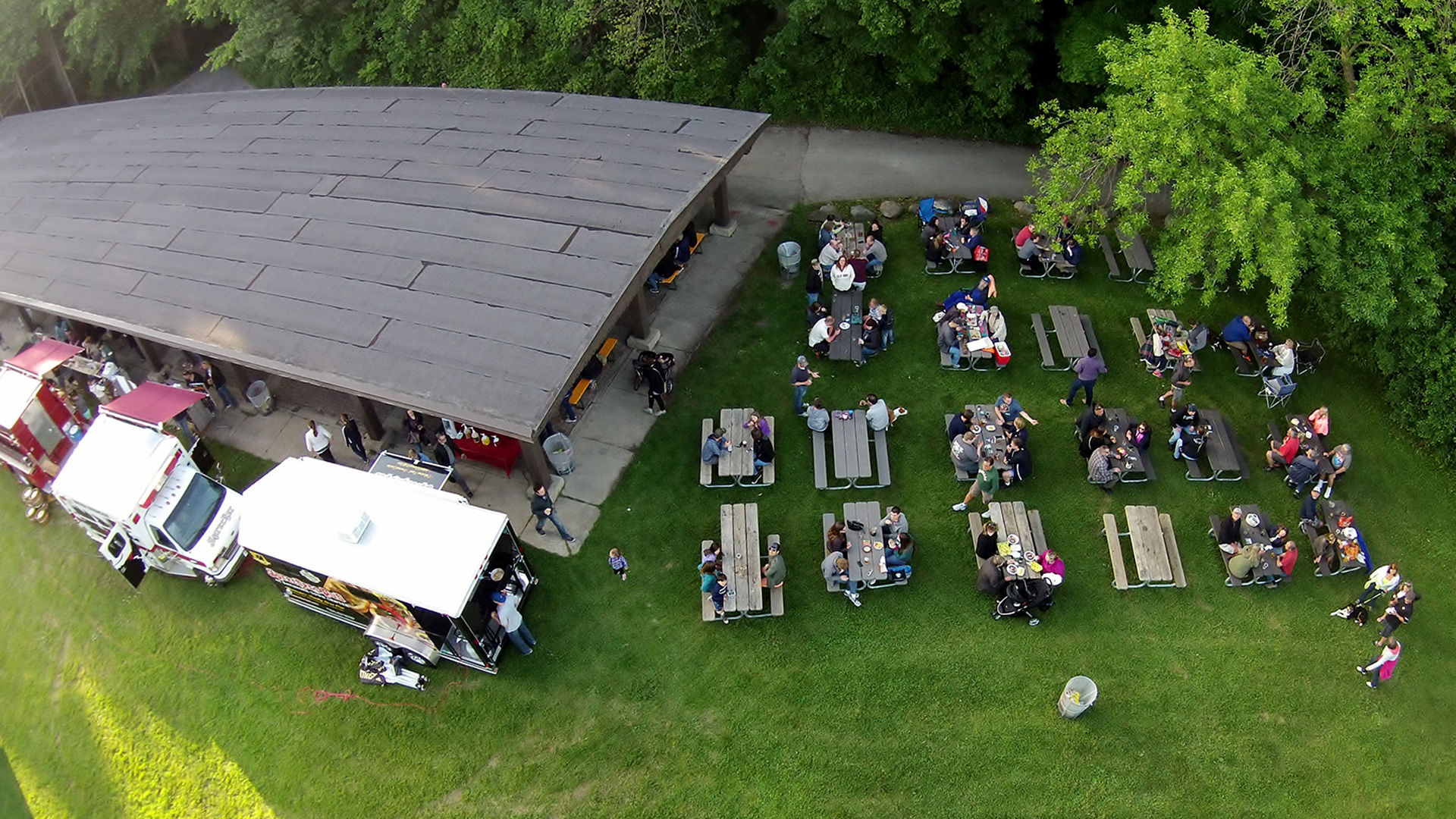 Milwaukee County Parks Traveling Beer Garden